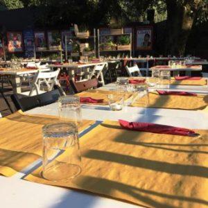all'ombra del colosseo 2017 tavoli