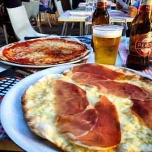 all'ombra del colosseo 2017 tavoli pizza