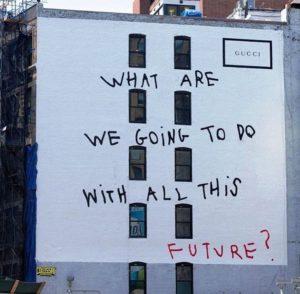 coco capitan wall art lafayette street NYC GUCCI