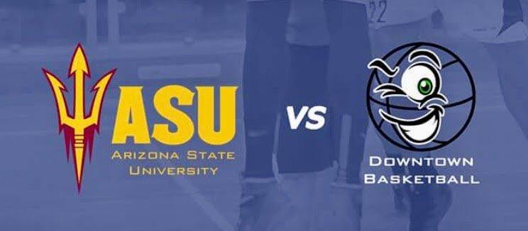 college basketball tour roma arizona state university vs downtown basketball