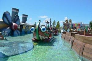 cosa fare a ferragosto a roma cinecitta world giochi acquatici