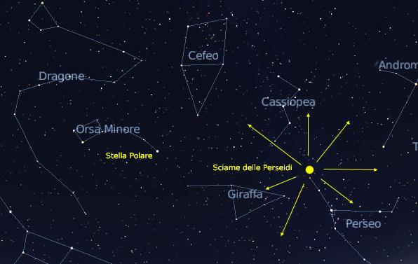 week end 12 13 agosto radiante stelle cadenti