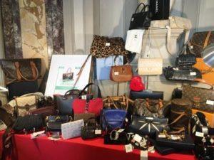 Mercato Violette Sauvage riutilizzo glamour borse lusso Opherty Ciocci 2