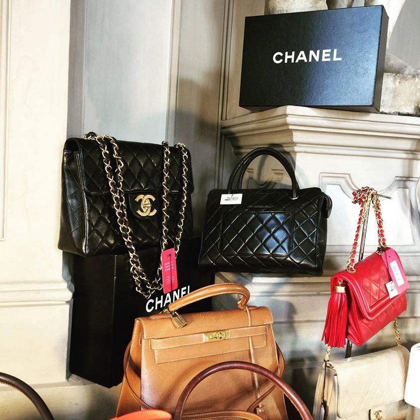 Mercato Violette Sauvage riutilizzo glamour borse lusso Opherty Ciocci shopping glamour
