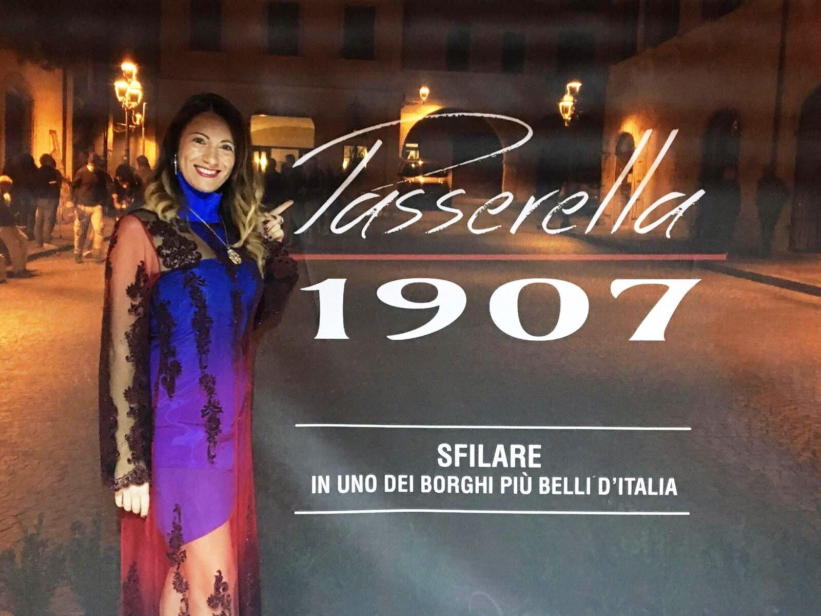 Passerella 1907 sfilata magica nel bellissimo scenario di Tagliacozzo