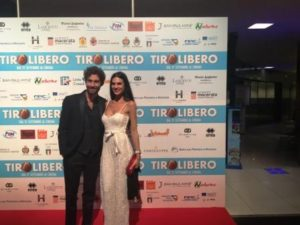 Tiro Libero film cinema adriano red carpet simone riccioni