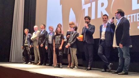 Tiro Libero film cinema cast al completo anteprima cinema adriano