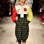 fashion week new york sfilata desigual tuta pizzo