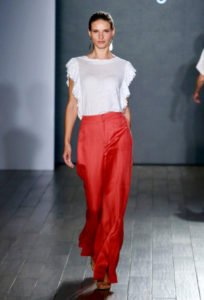 fashion week new york sfilata eva longoria
