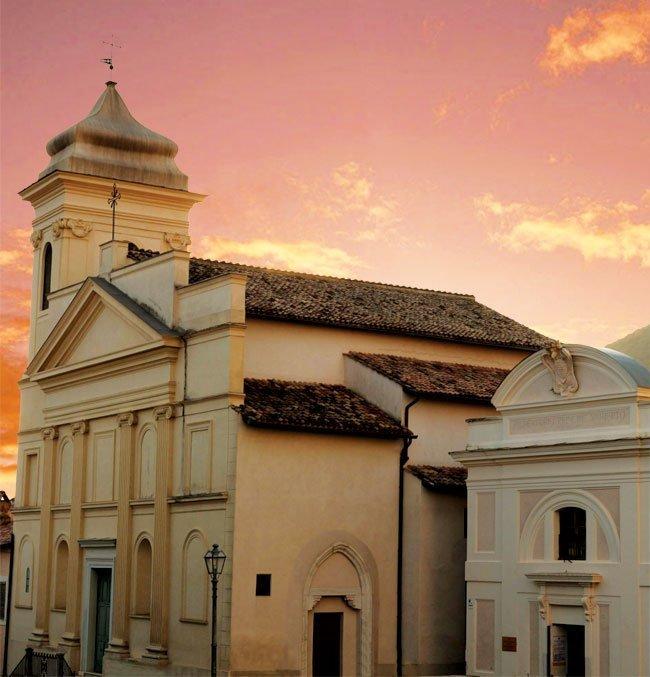 grand tour yallers genazzano 10 settembre chiesa di san nicola