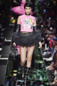 milano fashion week PE 2017 moschino capsule collection my little pony