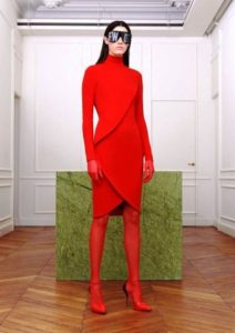 tendenze 2017 2018 rosso givenchy riccardo tisci