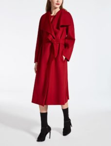tendenze must have 2017 2018 sfilate cappotto rosso