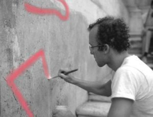 week end 16 e 17 settembre macro cross the street keith haring deleted