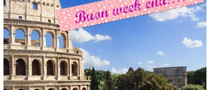 week end 23 24 settembre roma