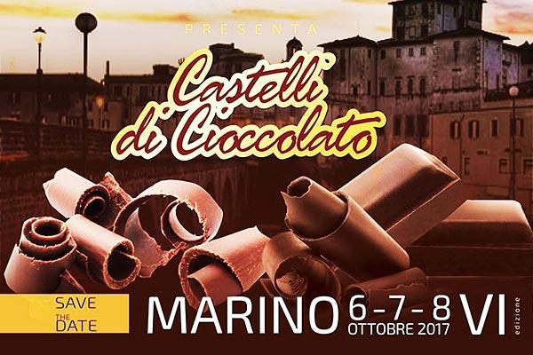 Castelli di Cioccolato a Marino dal 6 all'8 ottobre