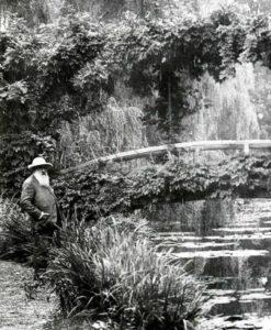 Claude monet foto giardino della casa di giverny