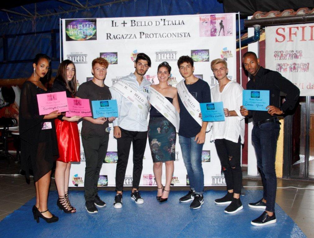 Il più bello d'Italia incorona altri due finalisti nazionali Antonio e Alessia