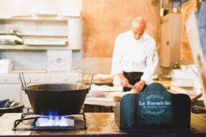 Le formiche lab market show cooking