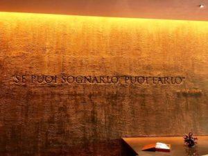 Poggio Le Volpi ai Castelli Romani scritta