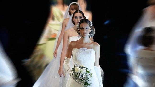 Roma Sposa 2017 vestiti sfilate mix 5 - 8 ottobre
