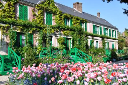 casa di claude monet a giverny