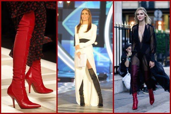 Cuissard, stivali alti o over the knee, sono loro il vero must di stagione