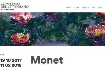 Monet arriva a Roma con i suoi meravigliosi capolavori