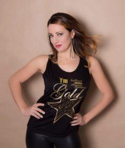 I'm Gold Elenia Scarsella Colors sito t shirt donna