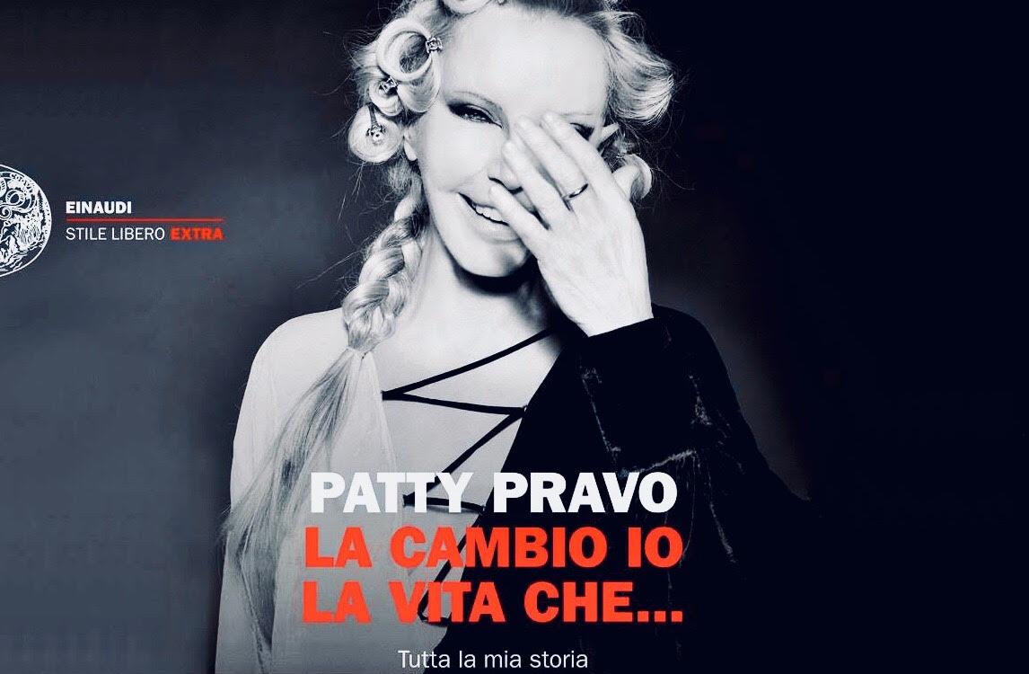 Patty Pravo si racconta nel libro LA CAMBIO IO LA VITA CHE…