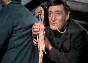 Totò a prescindere teatro trastevere roma spaghetti