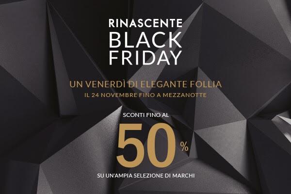 black friday 2017 roma offerte rinascente