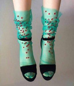 calze calzini ciliegia strass lirika matoshi