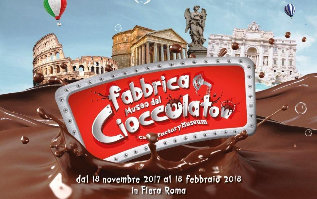 La FABBRICA MUSEO DEL CIOCCOLATO arriva a Roma
