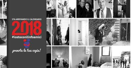 """I Linfoamici presentano il calendario """"365 ABBRACCI"""""""