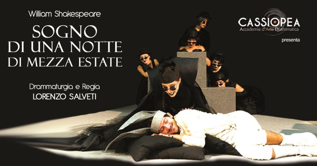 """Domenico Santarella in """"Sogno di una notte di mezza estate"""""""