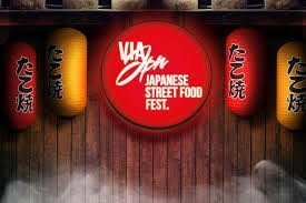 weekend 4 e 5 novembre roma Via Japan street food locandina