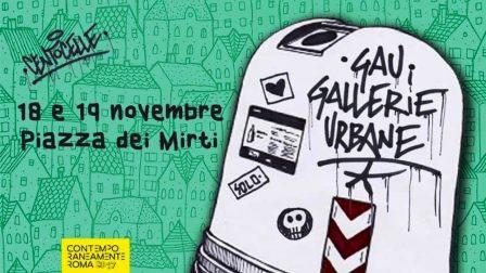 weekend Roma 18 e 19 novembre GAU CENTOCELLE campane verdi locandina