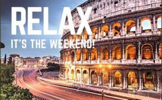 weekend Roma 18 e 19 novembre copertina