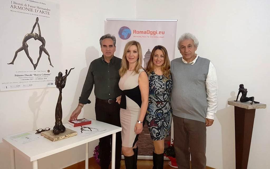 La meraviglia dei bronzi di Fanor Hernández a Castelnuovo di Porto