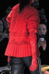 idee regalo natale 2017 guanti lunghi Altuzarra rossi