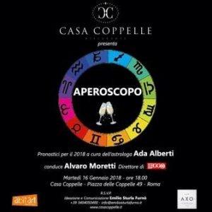 Aperoscopo a Casa Coppelle con Ada Alberti 2018