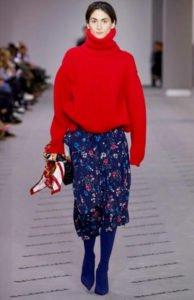 maglioni 2018 balenciaga maglione oversize rosso
