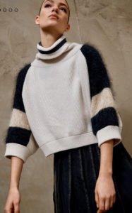 maglioni 2018 brunello cucinelli maglione cachemire e angora