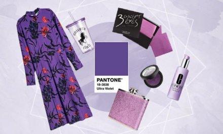 Ultra Violet colore dell'anno by Pantone
