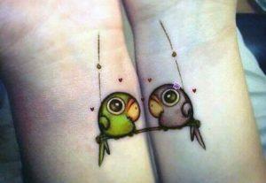 san valentino idea tatuaggio di coppia