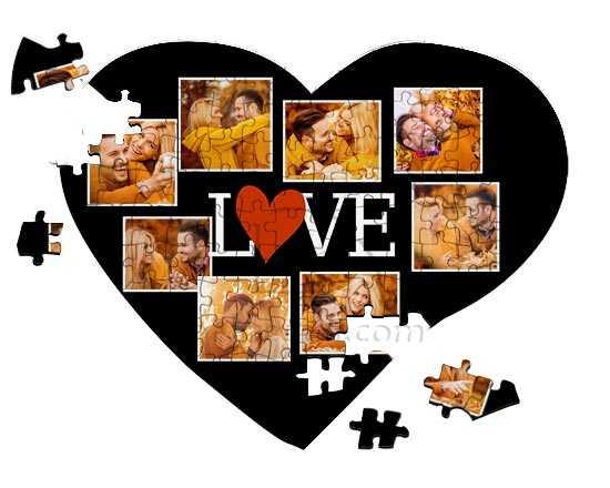 San Valentino idee regalo per Lei e per Lui puzzle con foto fotoregali