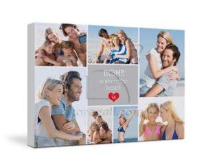 San Valentino idee regalo per Lei e per Lui quadro foto su tela con foto fotoregali