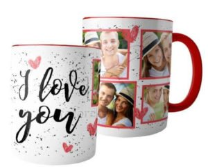San Valentino idee regalo per Lei e per Lui tazza con foto fotoregali