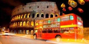 san valentino bus inglese cena roma